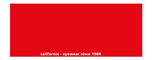 california – eyewear since 1989
